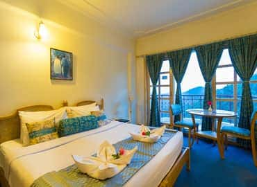 Royal Double Room with Valley View of Toshali Royal View Resort Shimla
